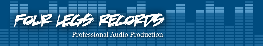 Four Legs Records, Professional Audio Production