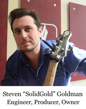 Steven 'SolidGold' Goldman, Four Legs Records Engineer and Owner