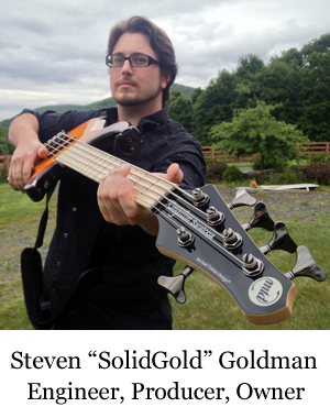 Steven J Goldman, Four Legs Records Engineer and Owner